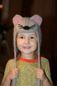 Шапка мышь1